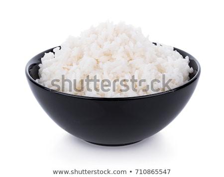 crudo · arroz · bolos · textura · negro · Asia - foto stock © digifoodstock