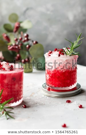 Pomegranate cocktail Stock photo © IMaster