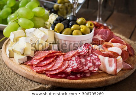 platter of antipasto stock photo © monkey_business