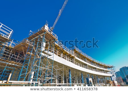 Under constructiom Crane and Beam Stock photo © tracer