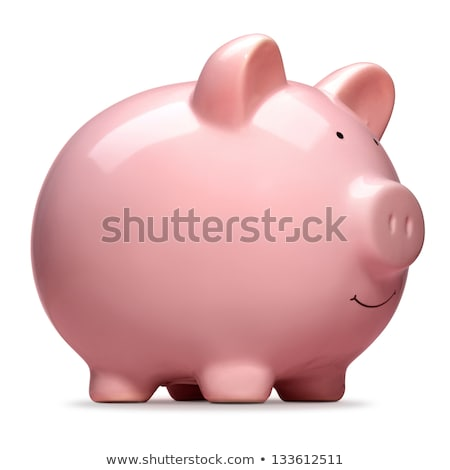 Front View Of Piggy Bank Stock photo © monkey_business