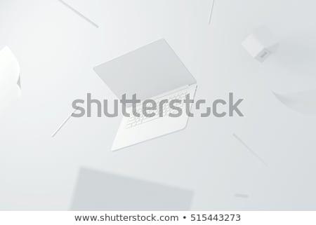 Idea - CloseUp of Keyboard. 3D. Stock photo © tashatuvango