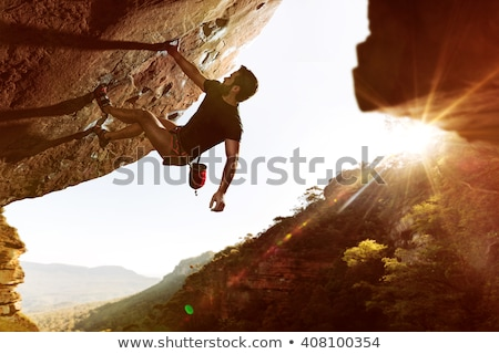 free climbing boulder Stock photo © IS2