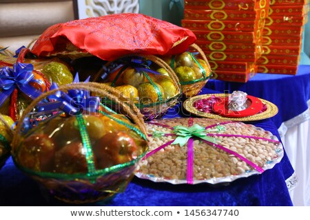 sugared almond candy for ritual celebrations stock photo © alessandrozocc