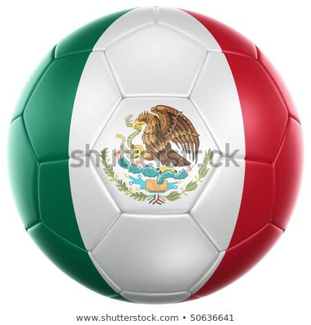 Foto stock: Futebol · México · 3D
