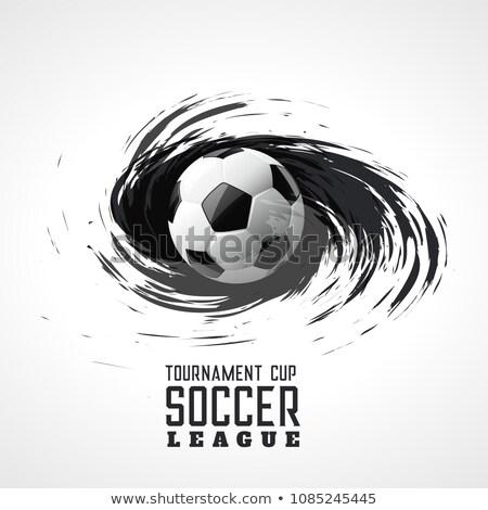 Torneo de fútbol resumen remolino grunge fútbol fondo Foto stock © SArts