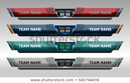soccer tournament sports banner background stock photo © sarts