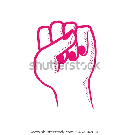 female fist and thumb stock photo © studiostoks