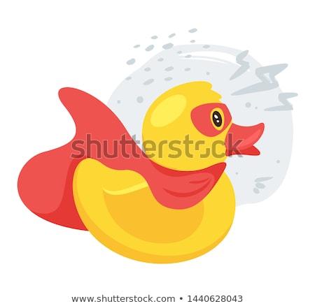 пузырьки · резиновые · весело · желтый · ванна - Сток-фото © thisboy