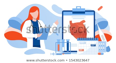 coronary artery cholesterol therapy stock photo © lightsource