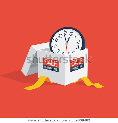 Black Friday Special Offer Limited Time Vector Stock photo © robuart