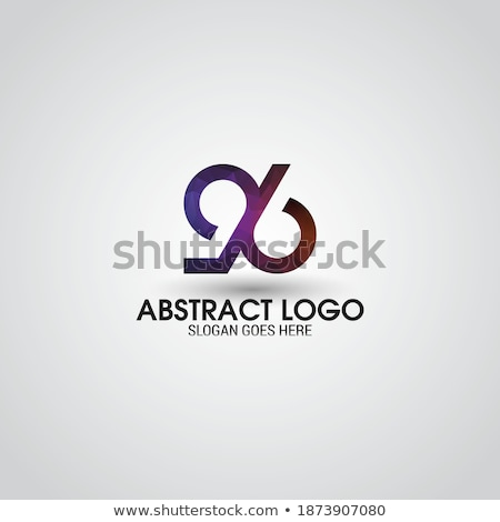 number 96 anniversary logo icon element vector Stock photo © blaskorizov