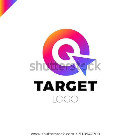 狙撃兵 ターゲット ベクトル ロゴ アイコン デザイン ストックフォト © blaskorizov