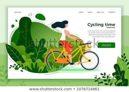 summer girl web page design stock photo © sgursozlu