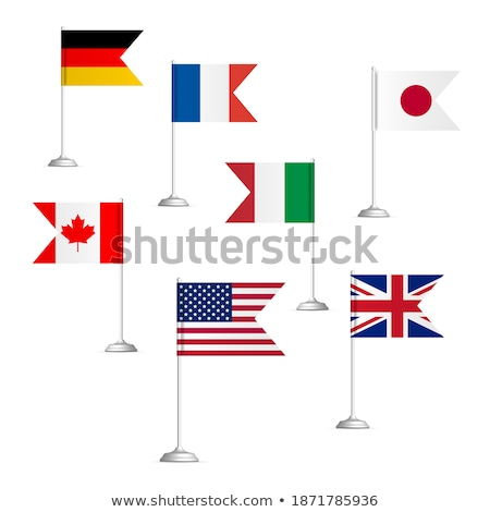 Sign G7 Group On White Background Isolated 3d Illustration Сток-фото © kup1984