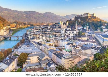 the historic center of Salzburg, Austria Stock photo © borisb17