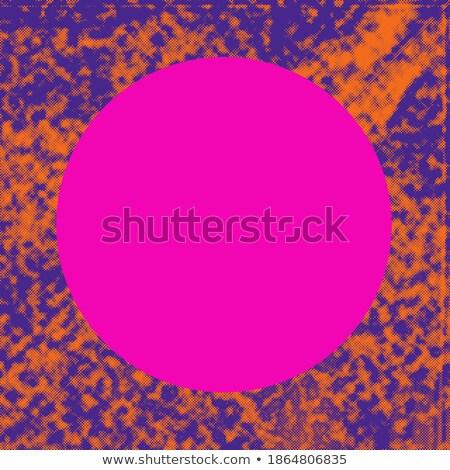 オレンジ ハーフトーン 紫色の背景 紫色 デザイン ストックフォト © SArts