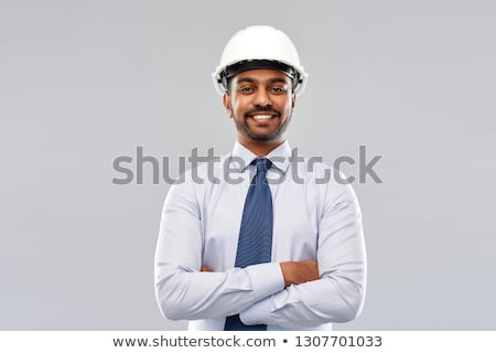 руководитель · профессиональных · офисное · здание · индийской · бизнеса · человека - Сток-фото © dolgachov