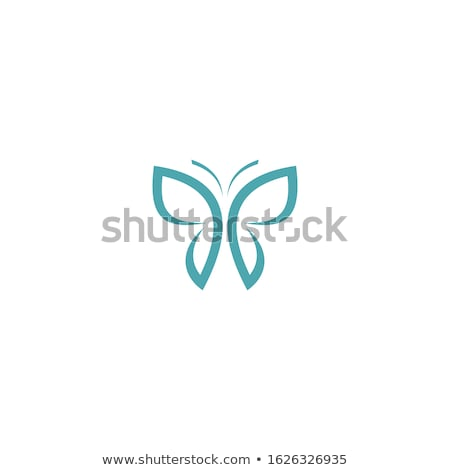 creative butterfly with a wing of flowers Stock photo © Olena