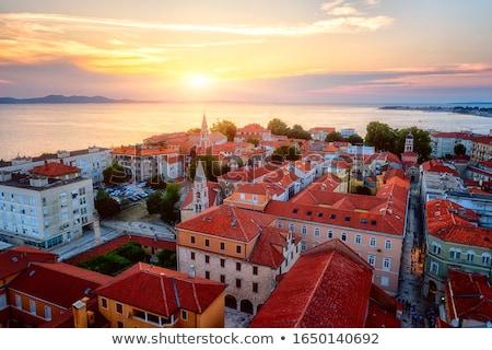 Catedral Croácia romano católico edifício cidade Foto stock © borisb17