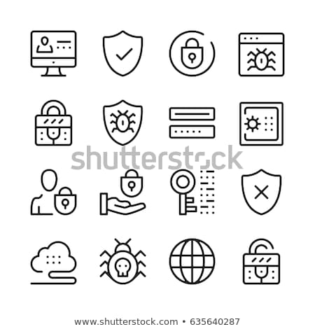 Il malware vettore codice binario computer rete dati Foto d'archivio © THP