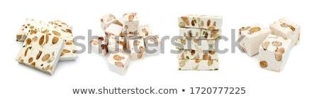 Küçük parçalar uçan yeşil arka plan tatlı Stok fotoğraf © limpido