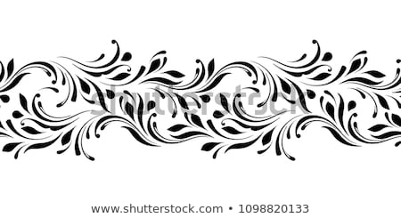 Vetor padrão sem costura floral Foto stock © natali_brill
