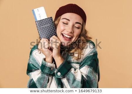 Foto bom feliz mulher seis Foto stock © deandrobot