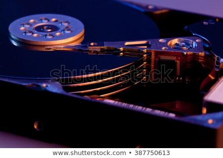 destructed open hard disk stock photo © gewoldi