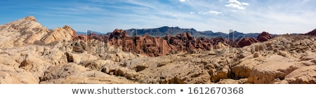 Scenic Road Through Valley of the Fire State Park stock photo © gwhitton