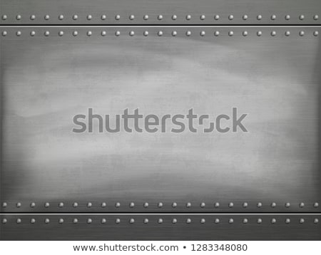 Rivets and Steel Stock photo © bobkeenan