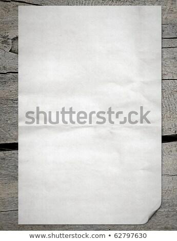 белый · бумаги · из · ноутбук · древесины · аннотация - Сток-фото © inxti