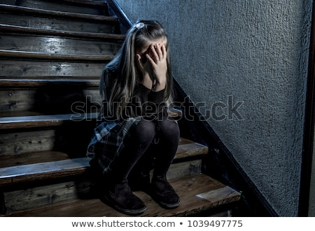 Scared young girl Stock photo © photography33