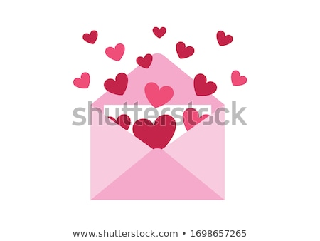 heart in the envelope Stock photo © brux