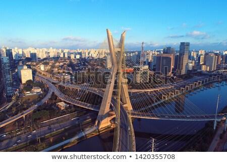 Сток-фото: Сан-Паулу · к · северо-западу · город · зданий · небоскреба