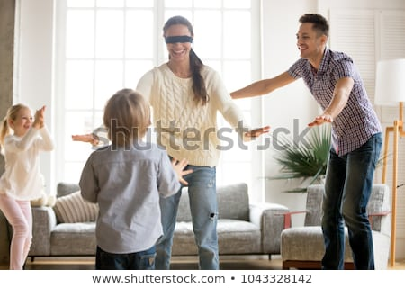 blindfold games Stock photo © dolgachov