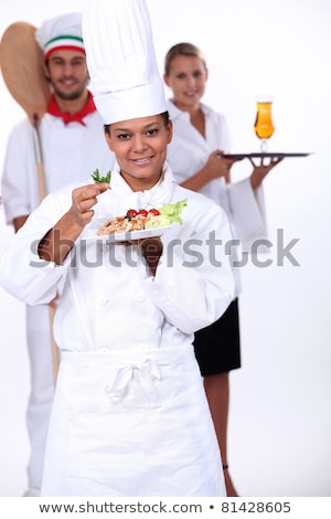 staff of catering sector Stock photo © photography33
