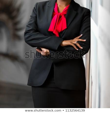 mujer · empresarial · atractivo · altos - foto stock © stockyimages