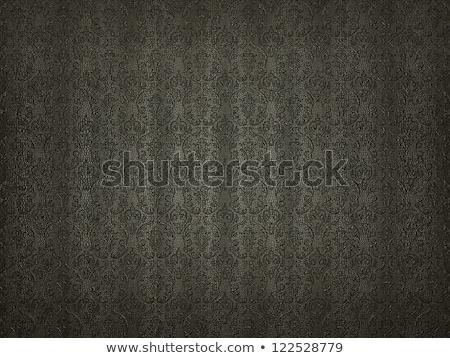Mock Croc background with embossment victorian pattern Stock photo © Arsgera