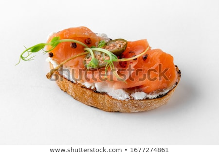 voedsel · tomaat · snack · voorgerechten · basilicum · mozzarella - stockfoto © m-studio