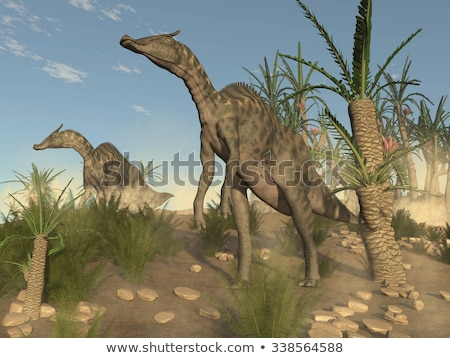 Saurolophus Dinosaur Stock photo © AlienCat