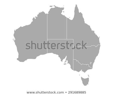 Australia map Stock photo © Lightsource