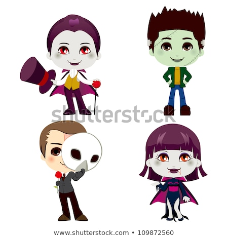 Frankenstein - Cartoon Character - Vector Illustration stock photo © indiwarm