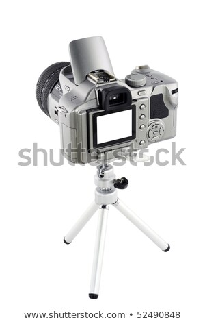 Mini tripod on white background Stock photo © snyfer