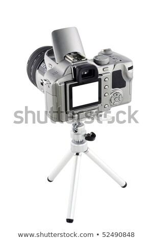 mini · blanche · compact · isolé · technologie - photo stock © snyfer