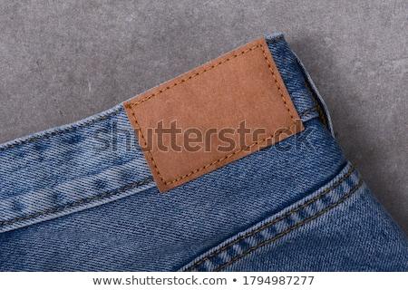 jeans · visitekaartje · vector · abstract · business - stockfoto © obradart