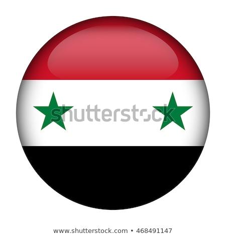 Ásia · mapa · Síria · país · mapas · botão - foto stock © ustofre9