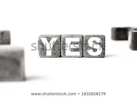 letters on white stock photo © arenacreative