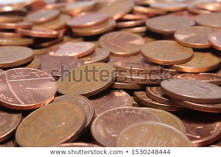Stock photo: Pounds And Pennies