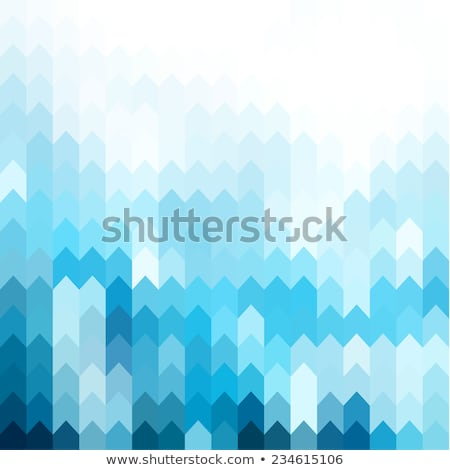 blue arrow pattern stock photo © ekapanova